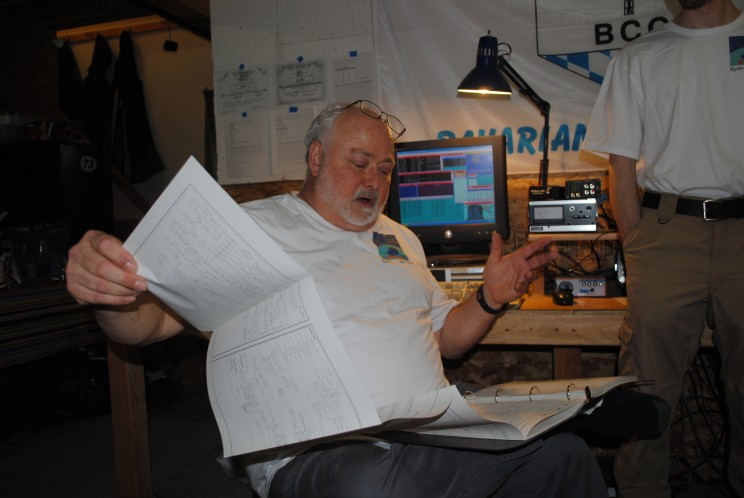 Carl, WL7BDO calculates cost per schematic element of Icom 7700. Accountants...